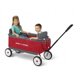 Carretilla plegable de Radio Flyer