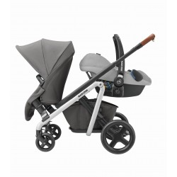 "Maxi Cosi ""2 in 1"" Package twin tandem stroller with car seat"